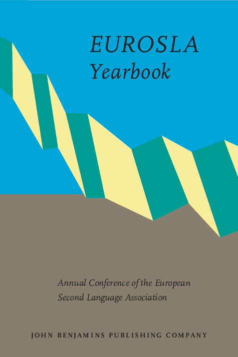 EUROSLA Yearbook: Volume 1 (2001)