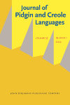 image of Journal of Pidgin and Creole Languages