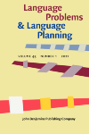 image of Language Problems and Language Planning