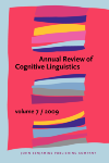 Annual Review of Cognitive Linguistics: Volume 6