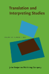 image of Translation and Interpreting Studies. The Journal of the American Translation and Interpreting Studies Association
