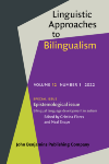 image of Linguistic Approaches to Bilingualism