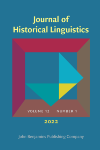 image of Journal of Historical Linguistics