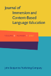 image of Journal of Immersion and Content-Based Language Education