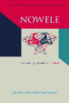 NOWELE Volume 20 (September 1992)