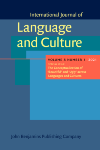 image of International Journal of Language and Culture