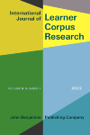 image of International Journal of Learner Corpus Research