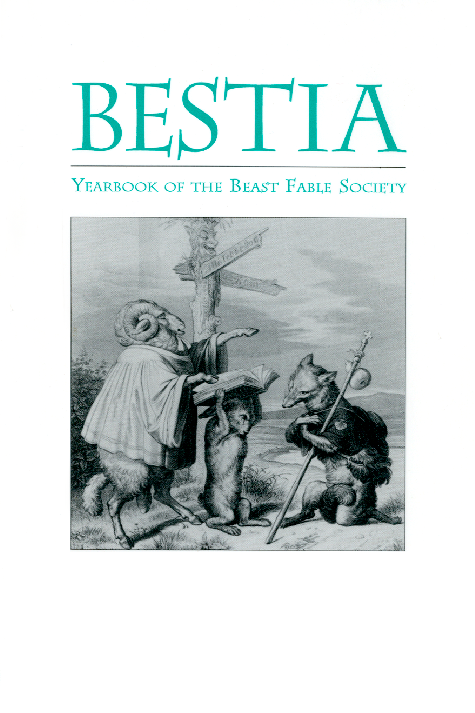 image of Bestia. Yearbook of the Beast Fable Society