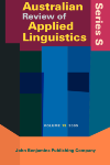 image of Australian Review of Applied Linguistics. Supplement Series