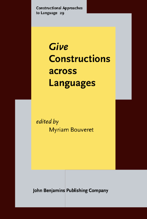 image of Give Constructions across Languages