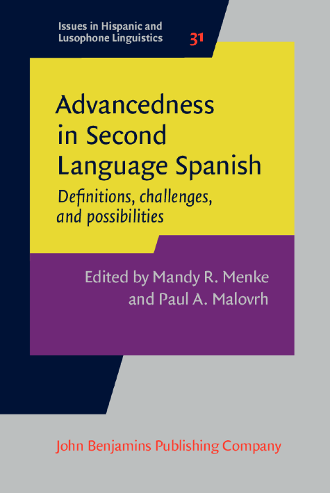 image of Advancedness in Second Language Spanish