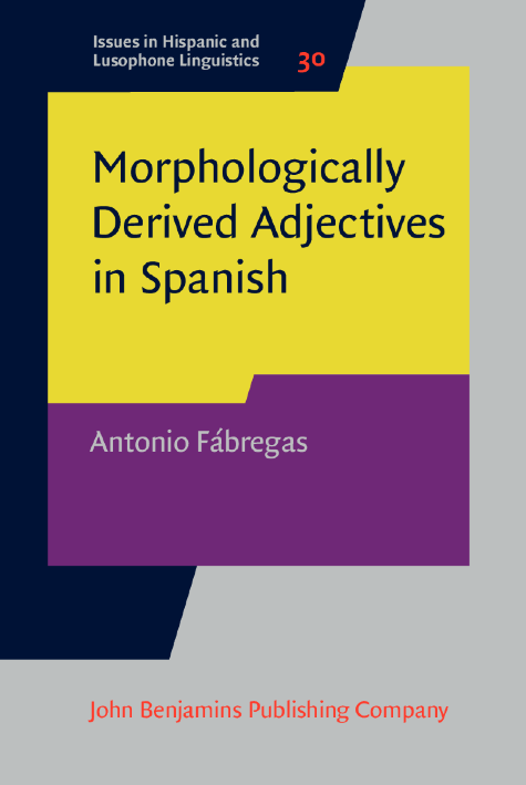 image of Morphologically Derived Adjectives in Spanish