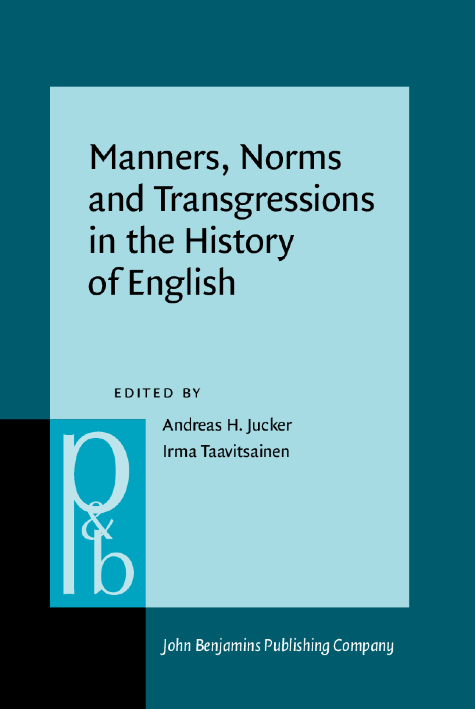 image of Manners, Norms and Transgressions in the History of English