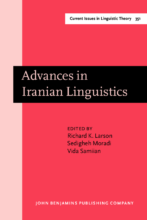 image of Advances in Iranian Linguistics