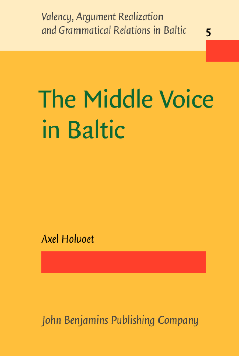 image of The Middle Voice in Baltic