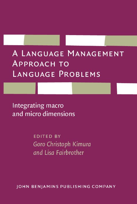 image of A Language Management Approach to Language Problems