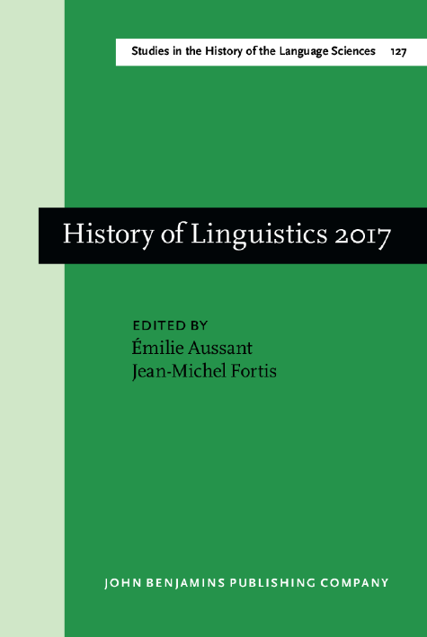 image of History of Linguistics 2017