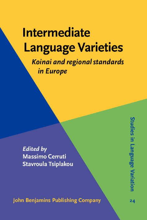 image of Intermediate Language Varieties