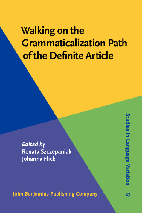 image of Walking on the Grammaticalization Path of the Definite Article