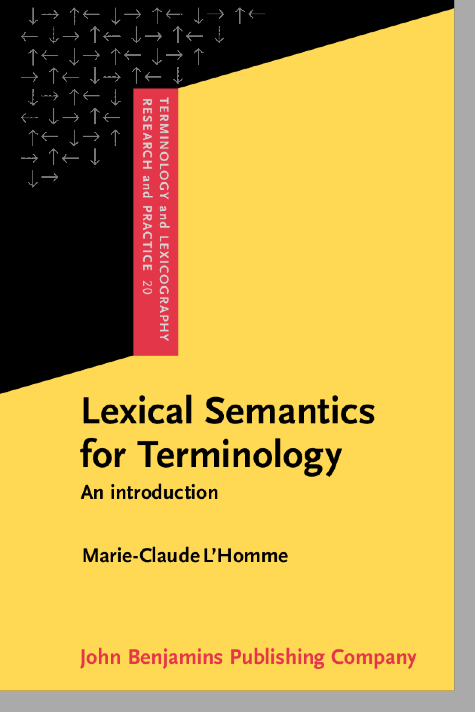 image of Lexical Semantics for Terminology