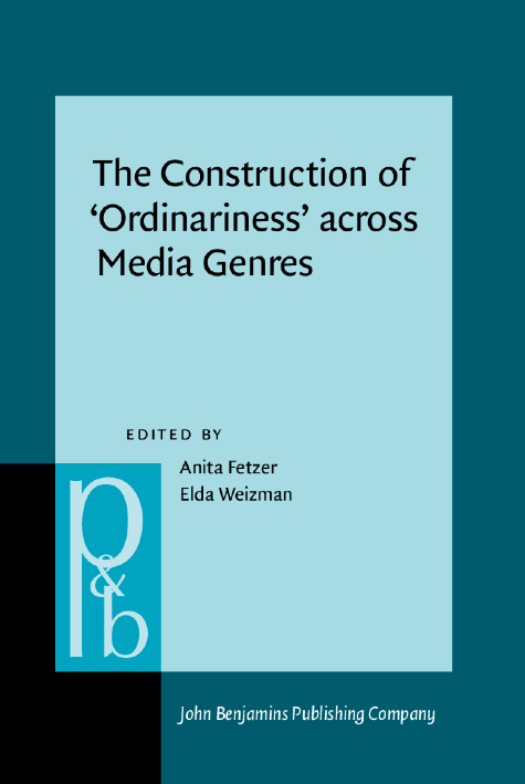 image of The Construction of 'Ordinariness' across Media Genres