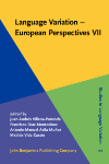 image of Language Variation - European Perspectives VII