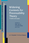 image of Widening Contexts for Processability Theory