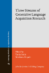 image of Three Streams of Generative Language Acquisition Research