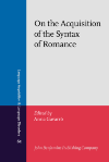 image of On the Acquisition of the Syntax of Romance