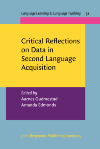 image of Critical Reflections on Data in Second Language Acquisition
