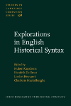 image of Explorations in English Historical Syntax