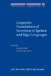 image of Linguistic Foundations of Narration in Spoken and Sign Languages