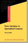 image of Term Variation in Specialised Corpora