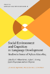 image of Social Environment and Cognition in Language Development