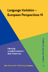 image of Language Variation - European Perspectives VI