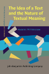 image of The Idea of a Text and the Nature of Textual Meaning