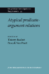 image of Atypical predicate-argument relations