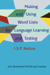 image of Making and Using Word Lists for Language Learning and Testing