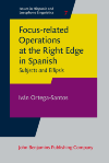 image of Focus-related Operations at the Right Edge in Spanish