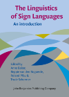 image of The Linguistics of Sign Languages