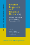 image of Romance Languages and Linguistic Theory 2013