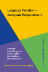 image of Language Variation - European Perspectives V