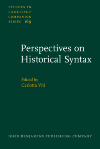 image of Perspectives on Historical Syntax