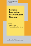 image of Romance Perspectives on Construction Grammar