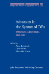image of Advances in the Syntax of DPs