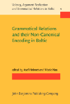 image of Grammatical Relations and their Non-Canonical Encoding in Baltic