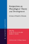 image of Perspectives on Phonological Theory and Development