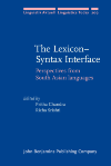 image of The Lexicon–Syntax Interface