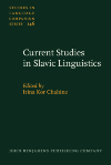 image of Current Studies in Slavic Linguistics