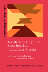 image of Transferring Linguistic Know-how into Institutional Practice